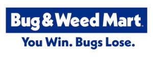 Bug & Weed Mart Logo sign