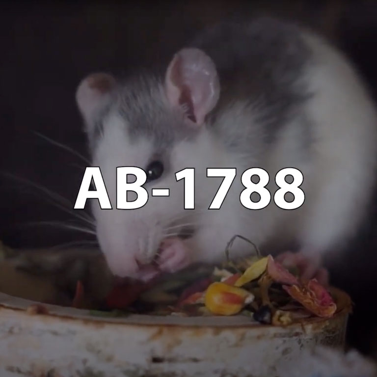 California AB-1788 Rodenticide Restrictions 2021